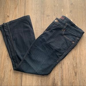 Women's torrid dark wash boot cut jeans 16 short